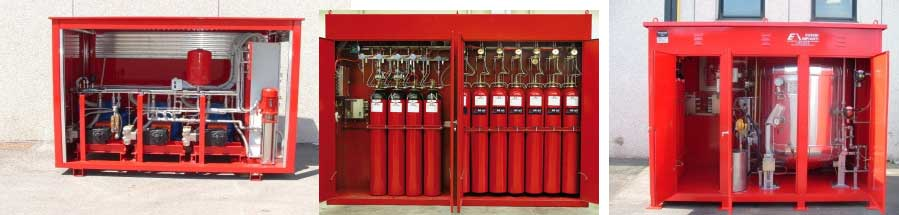 Intermittent Mist System : Silvani eusebi fire fighting systems gen grup